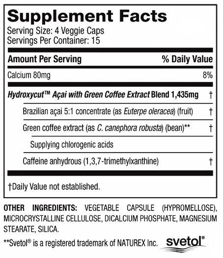 hyddroxcut a´Çai muscletech