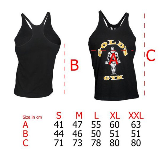 La camiseta CAMISETA GOLD'S GYM
