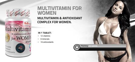 biotech multivtamin for women mujeres