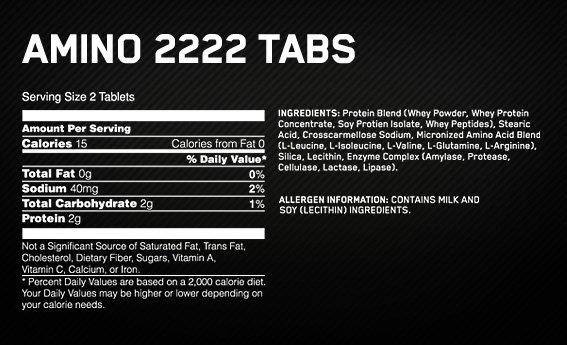 tiendaculturista amino 2222 3320 tabs