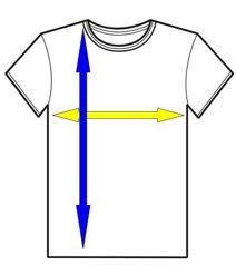 medidas camiseta