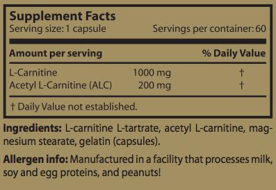 COMPRAR CARNI COMPLEX 60 CAPS. SCITEC NUTRITION AL MEJOR