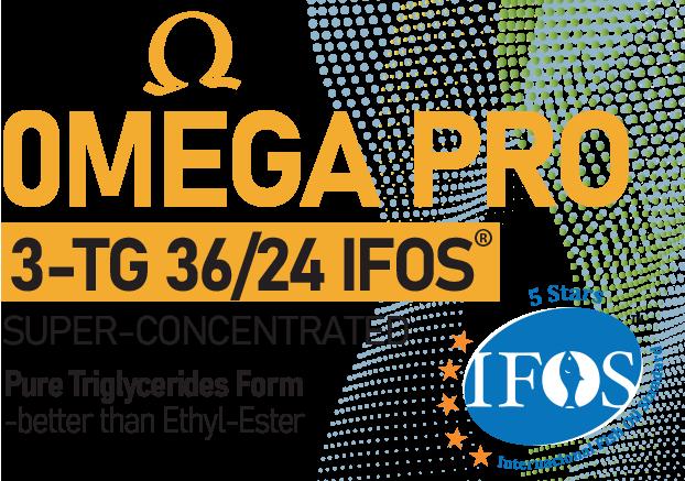 Omega 3 Pro IFOS TG36/24 90 Softgel