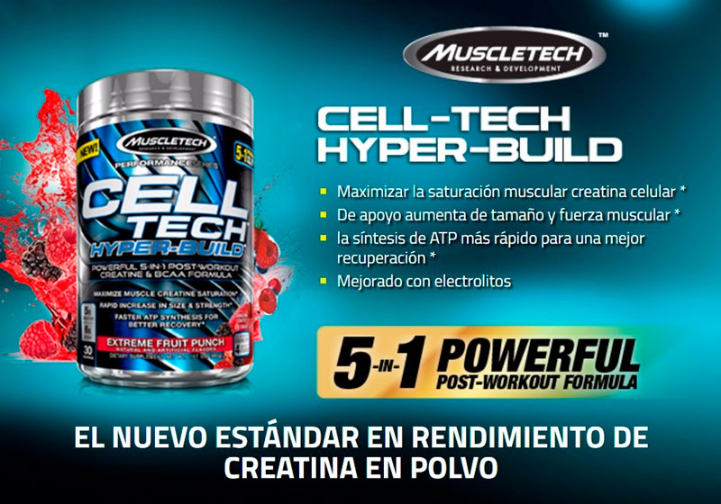 TIENDACULTURISTA MUSCLETECH CELL TECH