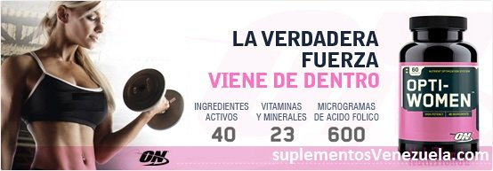 OPTIMUM NUTRITION OPTI-WOMEN tiendaculturista