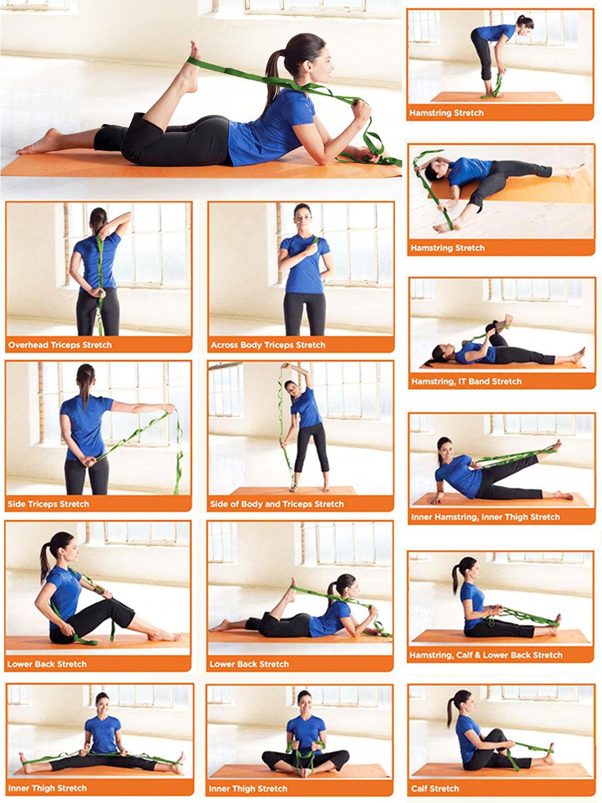 Instrucciones cinturon yoga