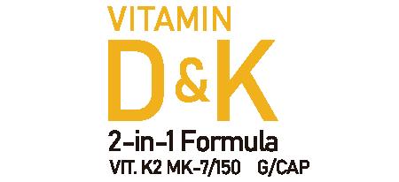 Life Pro Vit D&k 2 In 1 Vitamin K2 Mk-7