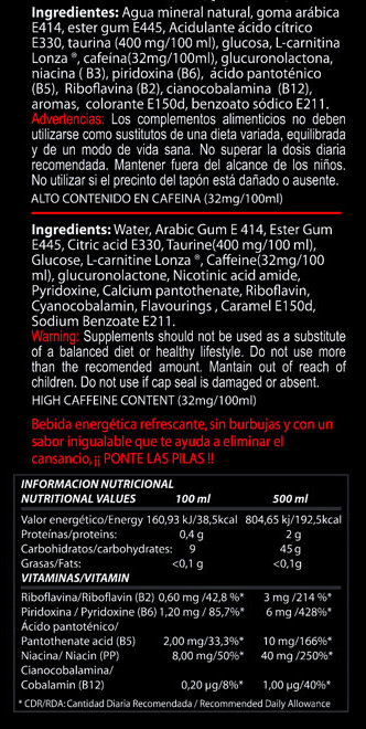 VITOBEST DARK ENERGY DRINK 500 ML