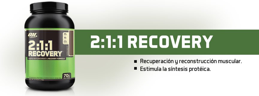 OPTIMUM NUTRITION 2:1:1 RECOVERY 1.7 KG