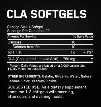 OPTIMUM NUTRITION CLA 60