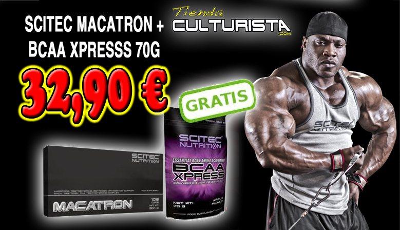 SCITEC MACATRON + BCAA XPRESS