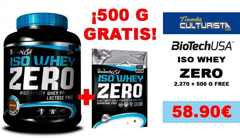 PACK BIOTECH USA ZERO ISOLATE +500 FREE
